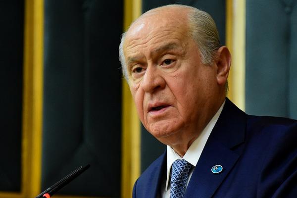 Bahçeli:Türkiye bu ihanete izin vermeyecektir