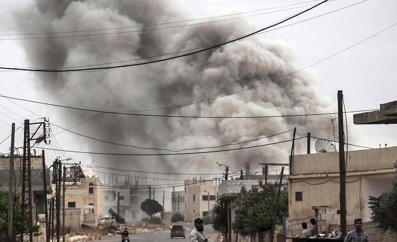 Esed rejimi: İsrail, Halep'e hava saldırısı düzenledi