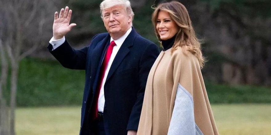 Trump ve eşi Melania  Kovid-19'a yakalandı