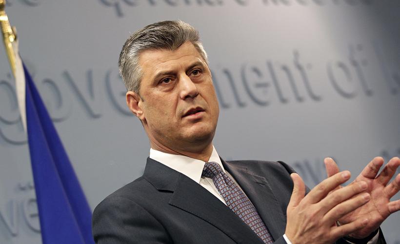 Kosova lideri Thaçi istifa etti