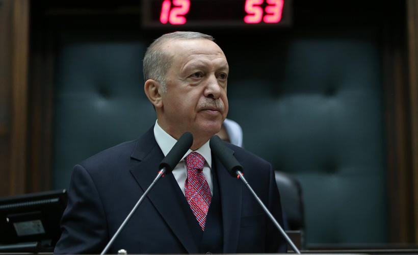 Erdoğan  AK Parti TBMM Grup Toplantısında konuştu.