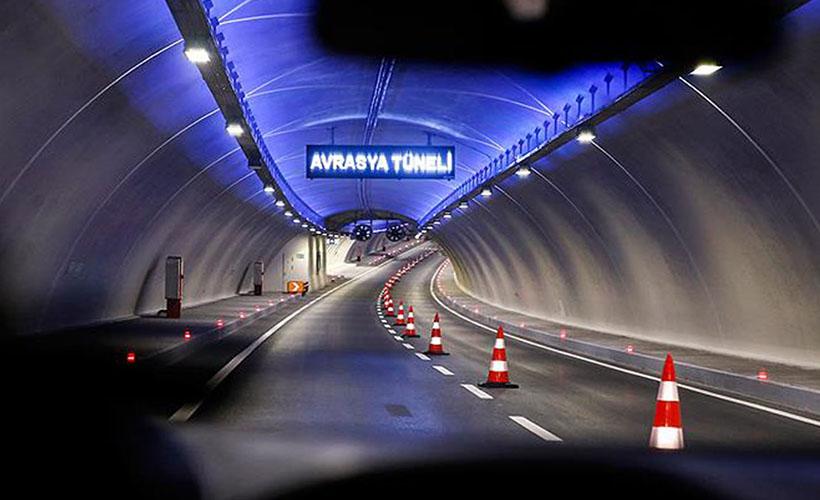 Avrasya Tüneli tek yön geçiş 69 Tl Oldu