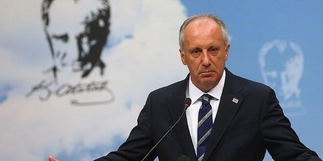 İnce'den 'istifa' açıklaması.CHP'ye çok sert eleştirilerde bulundu.