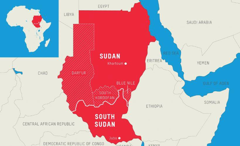 Sudan'da 8 bölgeli federal sistem