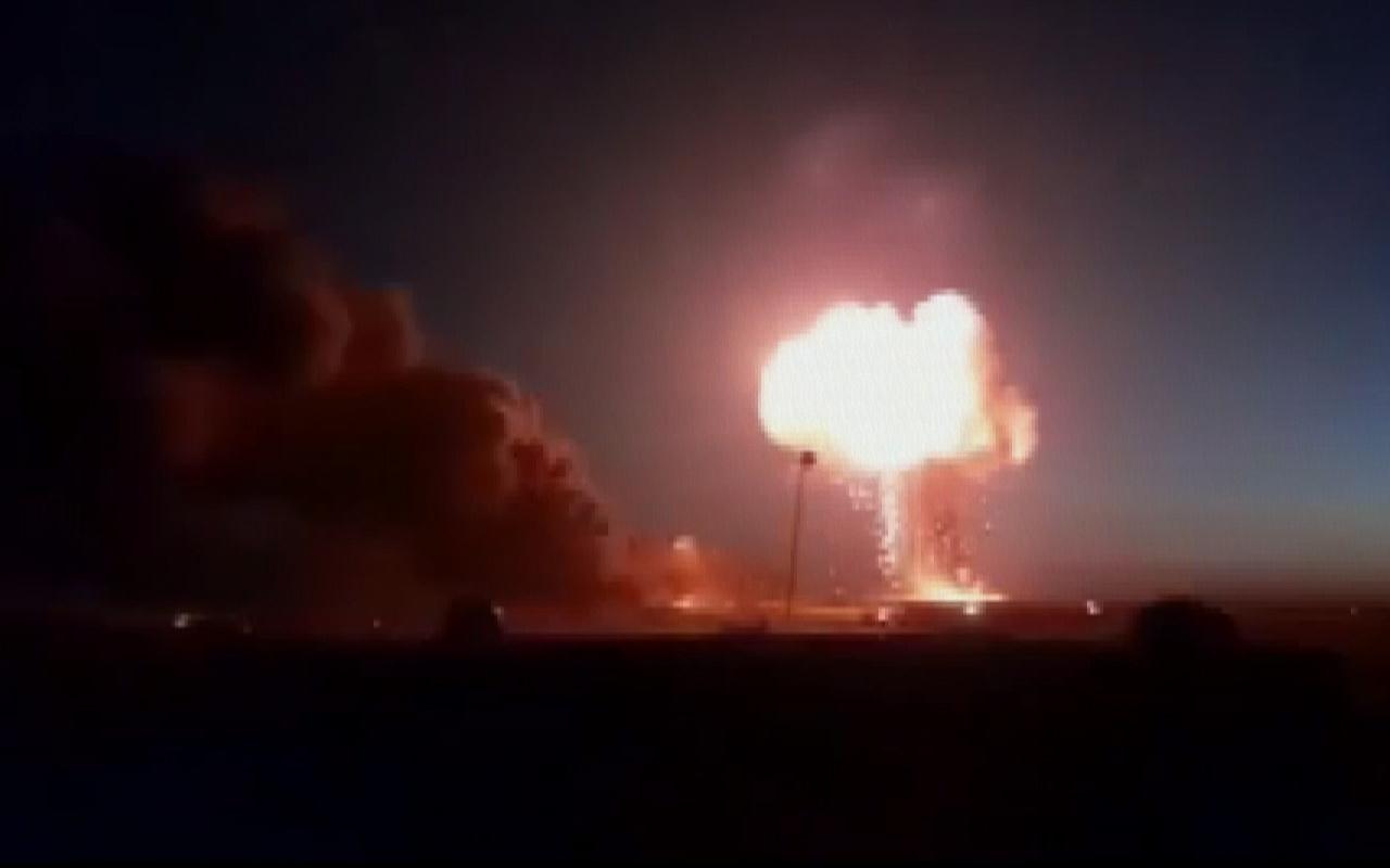 Suriyenin kuzeyine balistik füze
