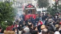 İstikllal Caddesi Geçici Süre Kaptıldı