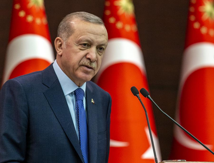 Erdoğan :Bu Eylem Kesinlikle art niyetli bir girişimdir
