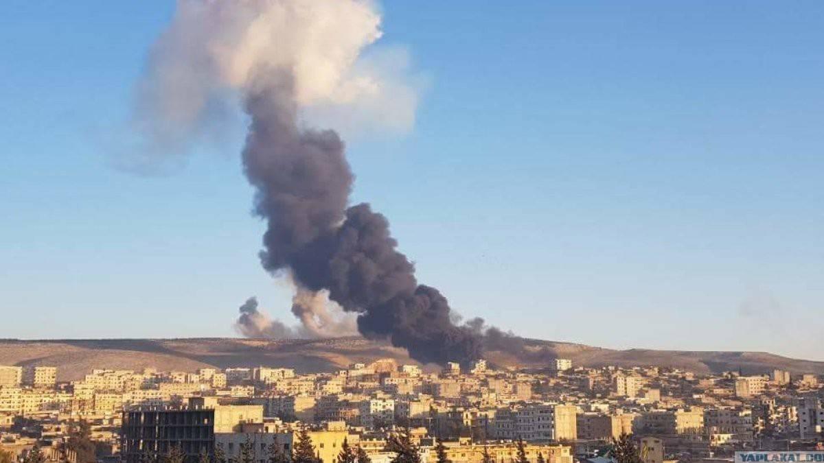 Afrin'e füzeli saldırı