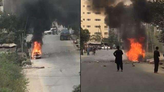 Kabil'de havalimanı çevresinde saldırı