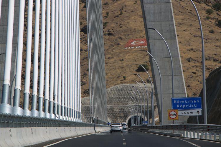 Kömürhan Köprüsü sürücülere kolaylık sağlıyor!