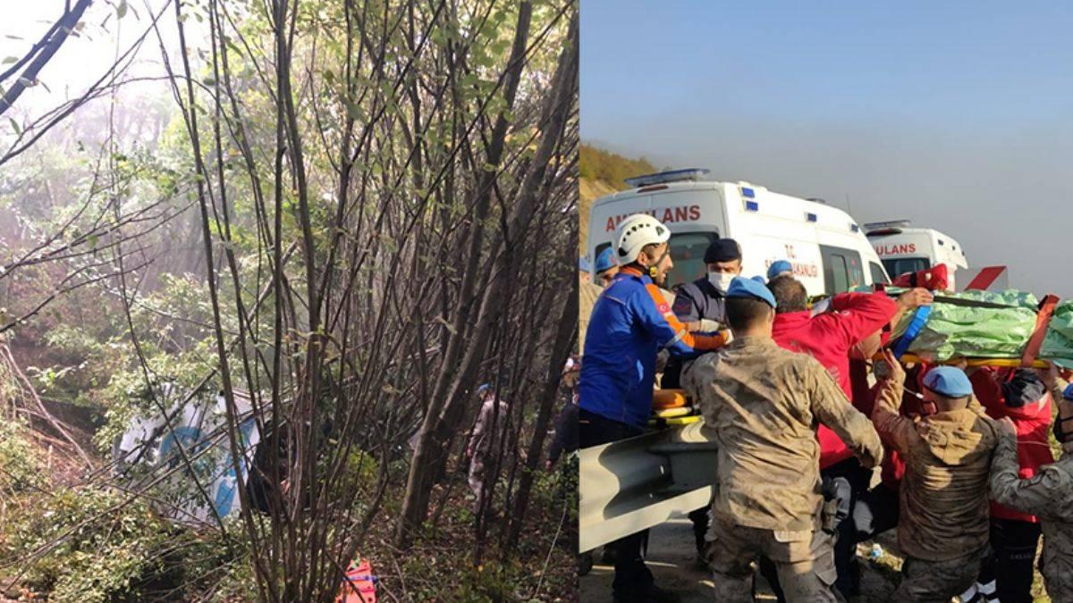 Samsun'da feci kaza:2 Ölü 14 Yaralı