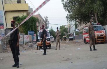 Pakistanda Borsa Binasına Silahlı Saldırı