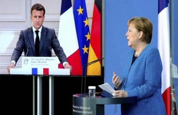 Almanya ve Fransadan 62 maddelik ortak