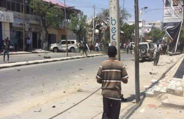 Mogadişuda bombalı