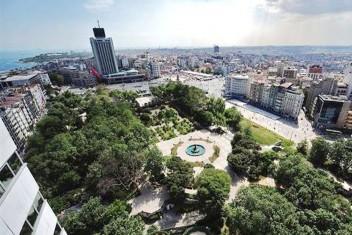 İBB den Gezi Parkı