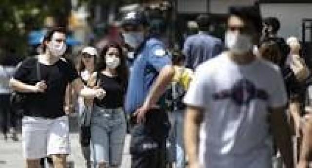 Maske takmayanlara 900 lira ceza