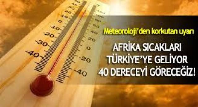 Afrika sıcakları